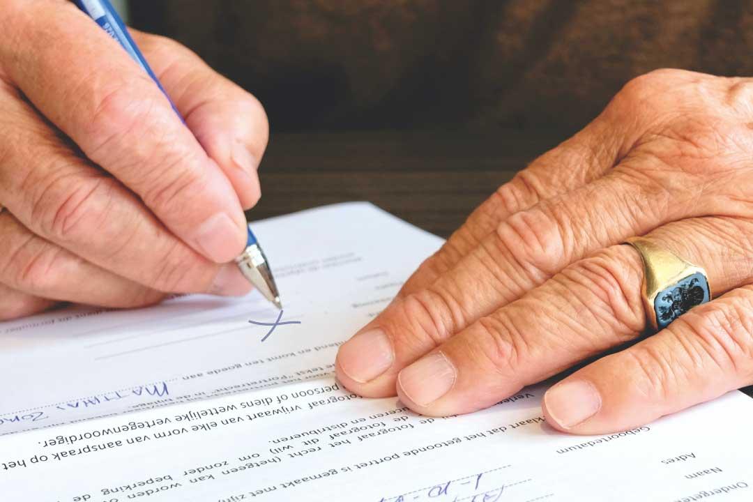 Croce al posto della firma: la procura alle liti non è valida