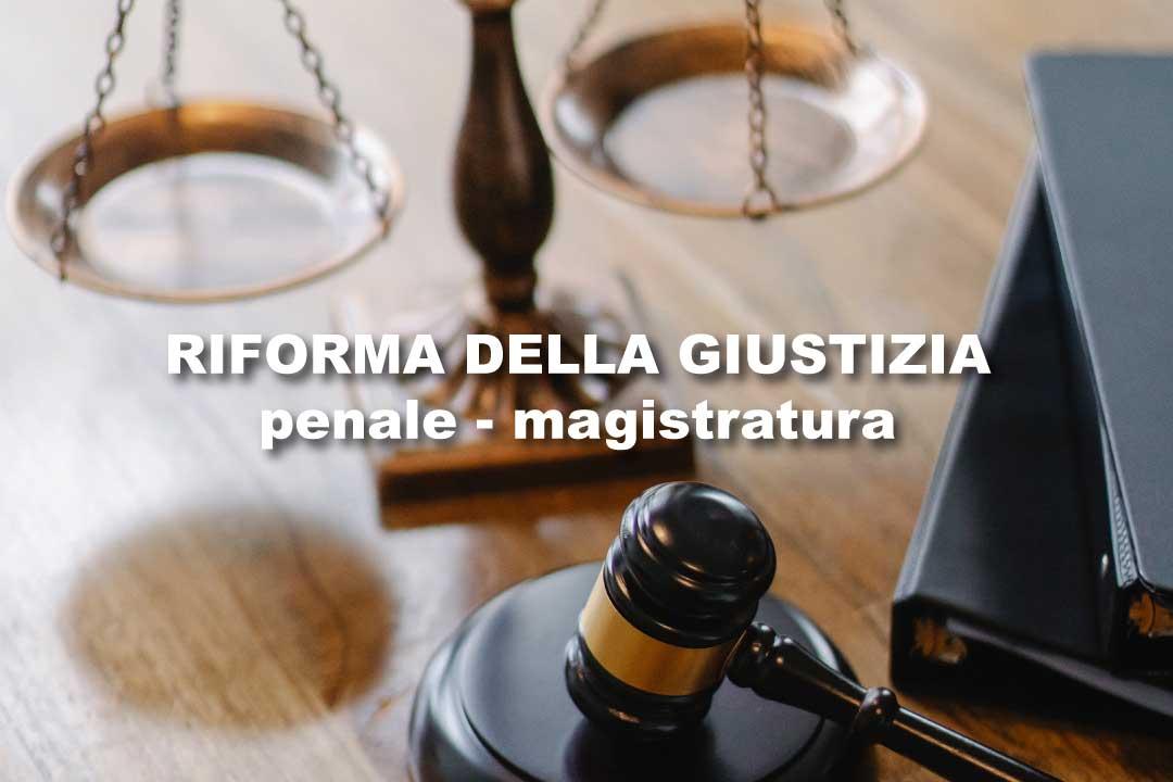 programma di riforme Giustizia 2
